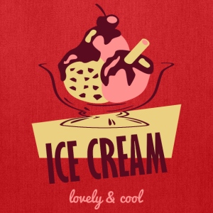 Ice Cream - lovely and cool Bags & backpacks - Tote Bag
