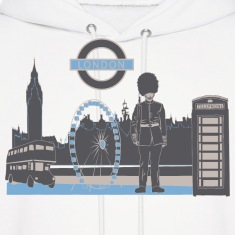 London with Love Hoodies