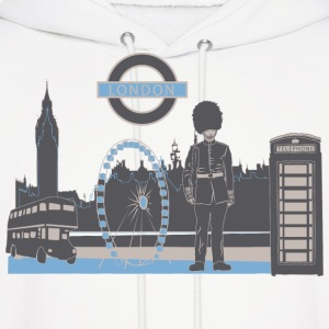 London with Love Hoodies - Men's Hoodie