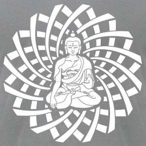 Shakyamuni Buddha in white - Men's T-Shirt by American Apparel