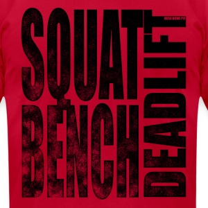 Squat Bench Deadlift 2 - Men's T-Shirt by American Apparel