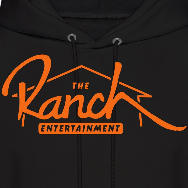 Original Men's Hoodie 2 Orange on Black