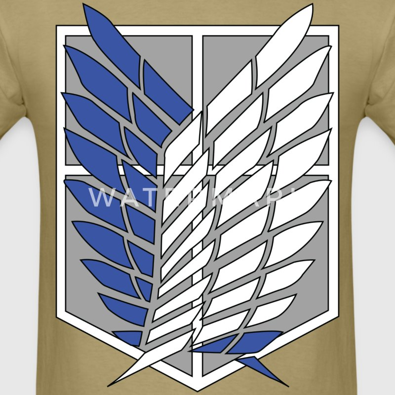 Attack on Titan Recon Corps - Men's T-Shirt