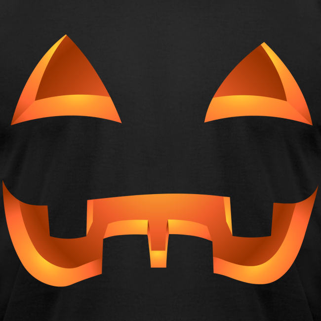 Jack-o-lantern Halloween T-Shirt Men's Pumpkin Shirt