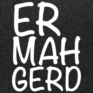 er mah gerd Caps - Snap-back Baseball Cap