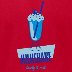 fresh Milkshake - lovely and cool T-Shirts - Men's T-Shirt by American Apparel