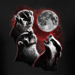 3 BADGER MOON T-Shirts - Men's T-Shirt