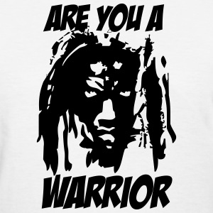(are_you_a_warrior) T-Shirts - Women's T-Shirt