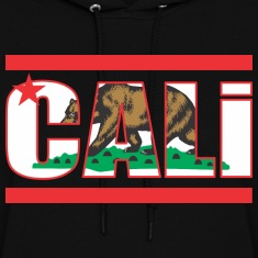 California Bear Flag Hoodies