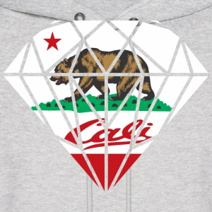 California Diamond Bear Hoodies - Men's Hoodie
