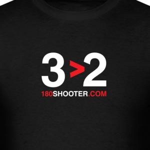 3 is better than 2 - Men's T-Shirt