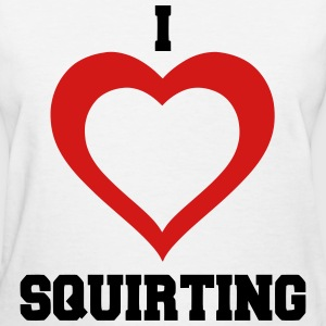 I Heart Squirting Women's T-Shirts - Women's T-Shirt