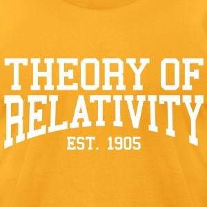 Theory of Relativity - Est. 1905 (over-under) T-Shirts - Men's T-Shirt by American Apparel