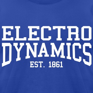 Electrodynamics - Est. 1861 (over-under) T-Shirts - Men's T-Shirt by American Apparel
