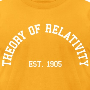 Theory of Relativity - Est. 1905 (half-circle) T-Shirts - Men's T-Shirt by American Apparel