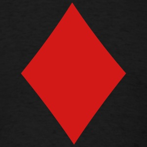 Poker Suit Diamond T-Shirts - Men's T-Shirt