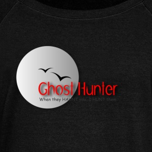 Ghost Hunter Long Sleeve Shirts - Women's Wideneck Sweatshirt