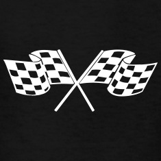 Racing - Racer - Checkered Flag Kids' Shirts