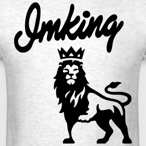 I'M KING LION T-Shirts - Men's T-Shirt