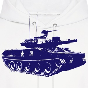 Tank - Military - Army - War - Troops - Soldiers Hoodies - Men's Hoodie