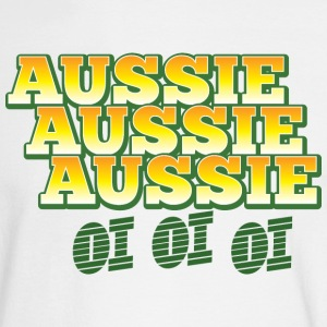 aussie aussie aussie oi oi oi Long Sleeve Shirts - Men's Long Sleeve T-Shirt