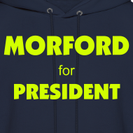 Design ~ Official Higher Pie Morford for President Hoodie