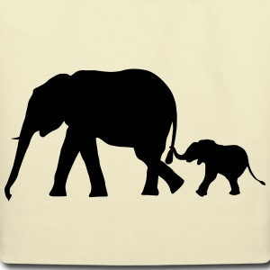Elephants - Elephant Bags & backpacks - Eco-Friendly Cotton Tote