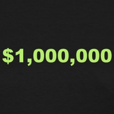 One Million Dollars Women's T-Shirts