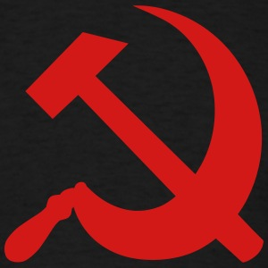 Communism Hammer and Sickle T-Shirts - Men's T-Shirt