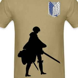 Captain Levi Shingeki no Kyojin T-Shirts - Men's T-Shirt