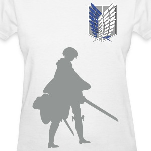 Captain Levi Shingeki no Kyojin Women's T-Shirts - Women's T-Shirt