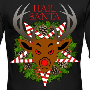 Hail Santa - Men's Long Sleeve T-Shirt by Next Level