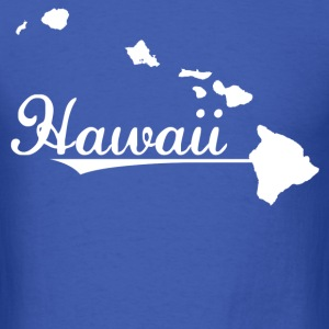 hawaii map - Men's T-Shirt