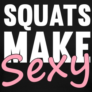 Squats Make Sexy Long Sleeve Shirts - Women's Long Sleeve Jersey T-Shirt