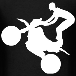 Mud Bogging Wheelie - Men's T-Shirt
