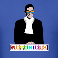 Design ~ RBG is NOTORIOUS (Men's T)