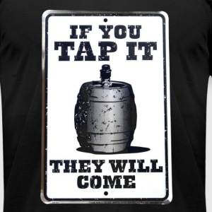 If you tap it T-Shirts - Men's T-Shirt by American Apparel