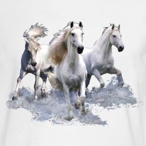 Horses Long Sleeve Shirts - Men's Long Sleeve T-Shirt