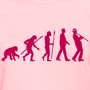 evolution_clarinet_player_092013_a_1c Women's T-Shirts - Women's T-Shirt