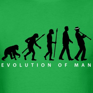 evolution_clarinet_player_092013_b_2c T-Shirts - Men's T-Shirt