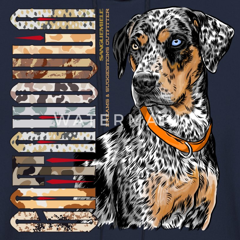catahoula_dog Hoodies - Men's Hoodie