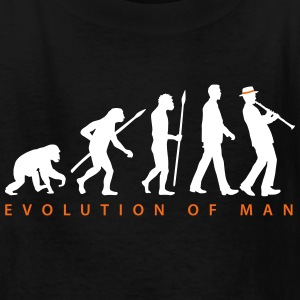 evolution_clarinet_player_092013_b_2c Kids' Shirts - Kids' T-Shirt