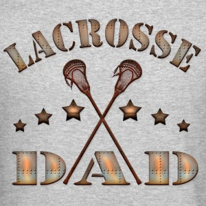 Lacrosse Dad Steampunk Style Long Sleeve Shirts - Crewneck Sweatshirt