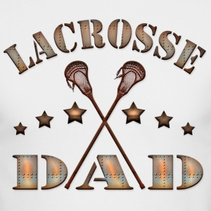 Lacrosse Dad Steampunk Style Long Sleeve Shirts - Men's Long Sleeve T-Shirt by Next Level