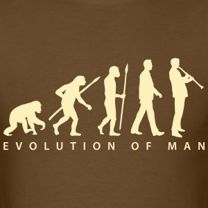 evolution_klarinette_spieler_082013_b_1c T-Shirts - Men's T-Shirt