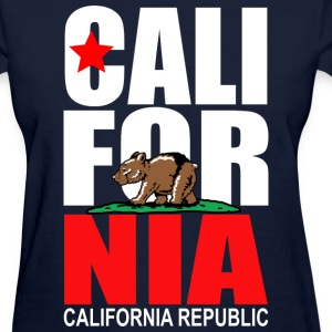 CALIFORNIA Young Bear Women's T-Shirts - Women's T-Shirt