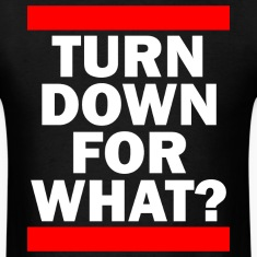 TURN DOWN FOR WHAT? T-Shirts