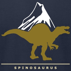 Prehistoric Giants: Spinosaurus T-Shirts - Men's T-Shirt by American Apparel
