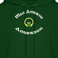 Design ~ Anderson Family Claddagh Sweat for Men