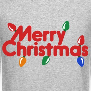 Merry Christmas Lights - Crewneck Sweatshirt